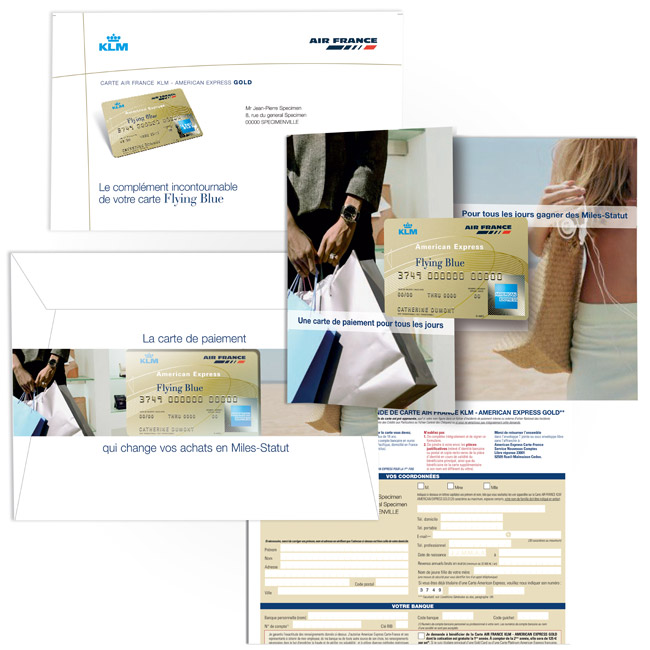 Mailing Gold Card Amex